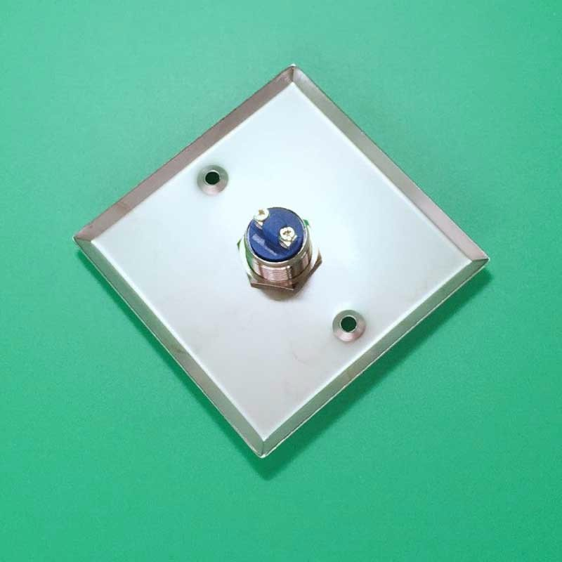 No/Com Stainless Steel Door Exit Button Switch emergency push button switch for home security system