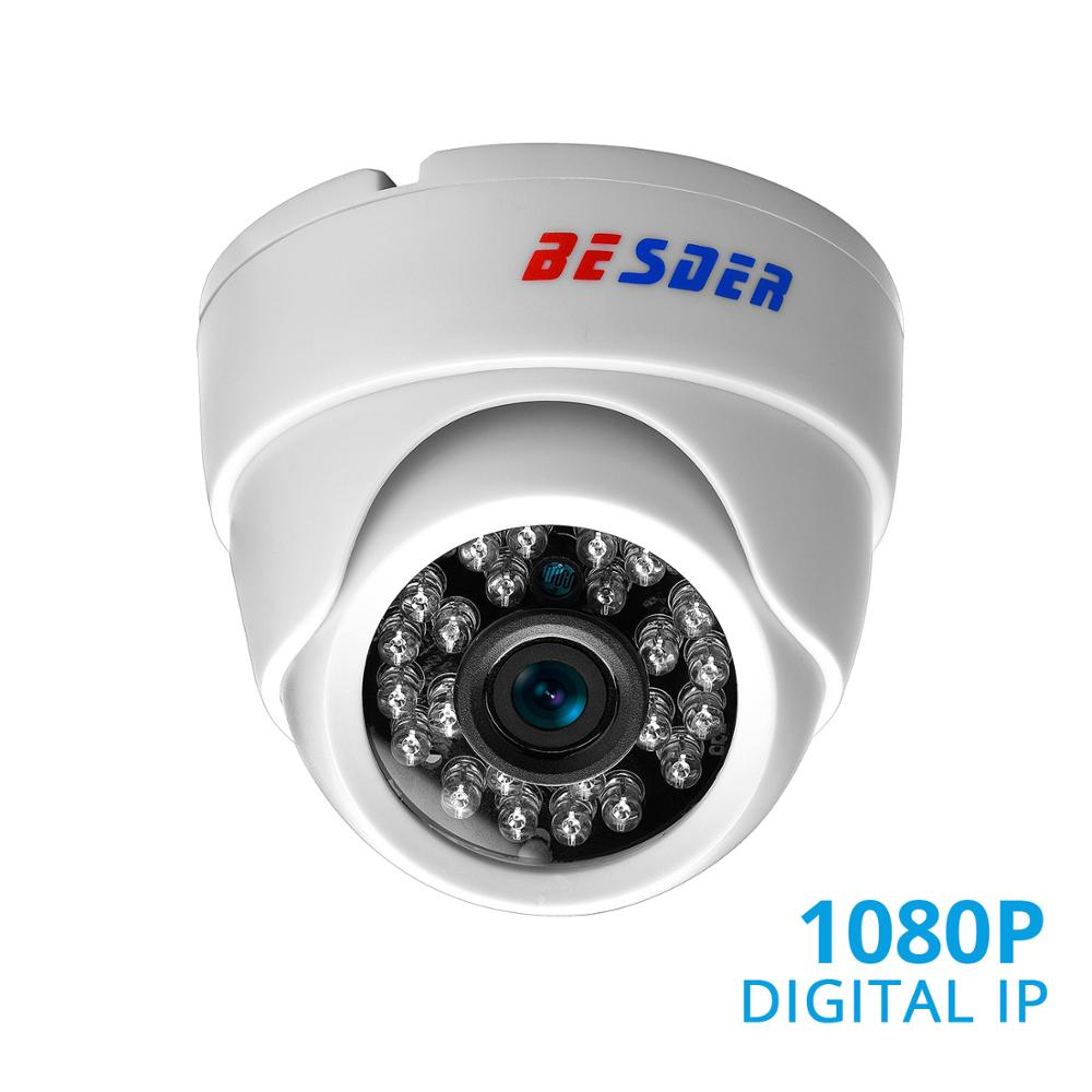 BESDER 2.8MM Wide Angle IP Camera 720P/1080P P2P H.264 Onvif Small CCTV Indoor Dome Surveillance Video Camera RTSP 48V POE XMEye-in Surveillance Cameras from Security & Protection