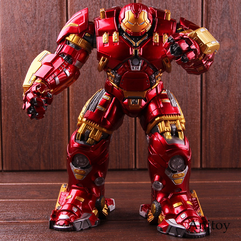 Marvel Toys Avengers Age of Ultron Mark 44 Hulkbuster Action Figure with Light PVC Collectible Model Toy цена