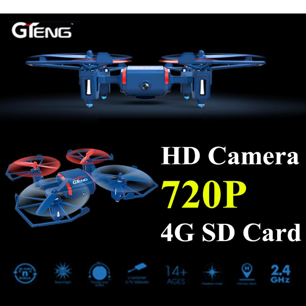 Gteng t901c mini toys drone con cámara de control remoto rc helicóptero dron qua