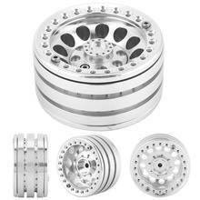 Jantes en alliage daluminium avec perles, 1.9 pouces, roues de voiture RC, moyeux, pour pneus à chenilles D90 SCX10 90046 1/10 RC, 4 pièces/ensemble