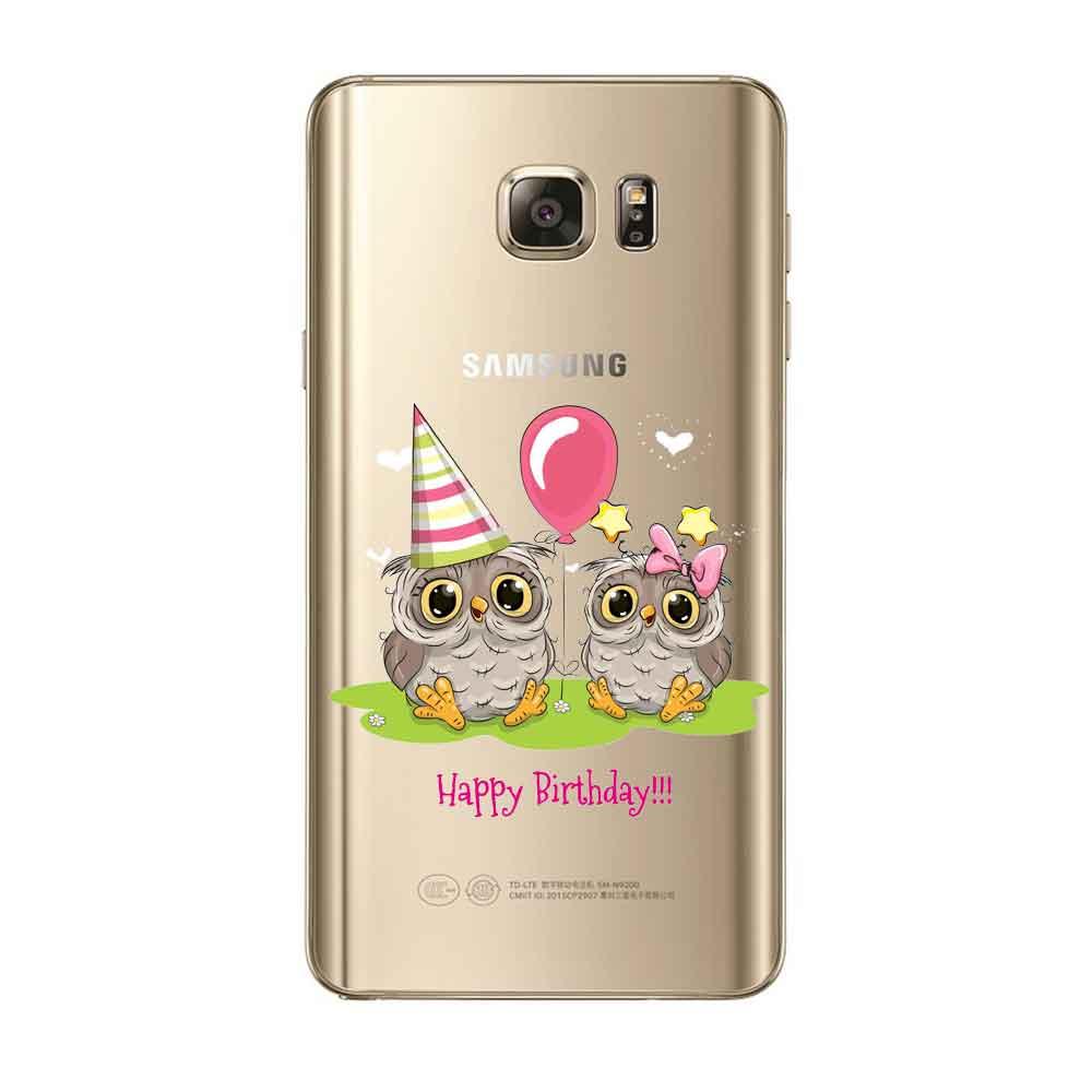 Punqzy чехол для Samsung J1 J5 J7 2016 S5 S6 S7 Edge S8 S8 плюс Милые Птица любовь вырез узор животного геометрический сова пара Винтаж