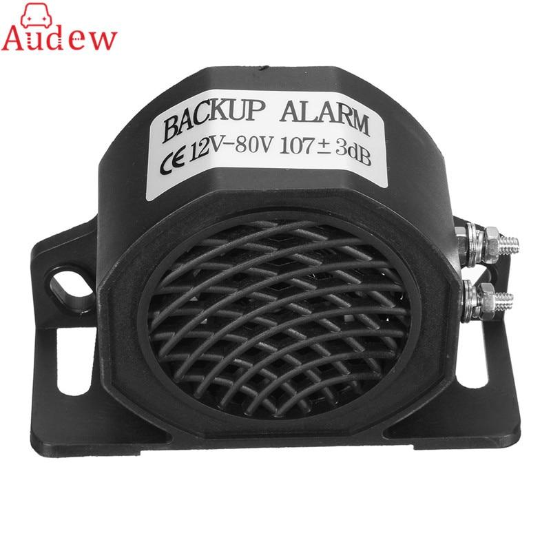 105dB Universal Durable Black Reversing Backup Alarm Buzzer Horn Speaker for Mot
