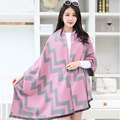 New Women Winter Scarf  Geometric printing Scarf  Cashmere Thick Shawls and Scarves for Women winter Scarf Free shipping