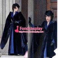 Sherlock Holmes A Game Of Shadows Irene Adler Movie Coat Cosplay Costume Custom made[G919]