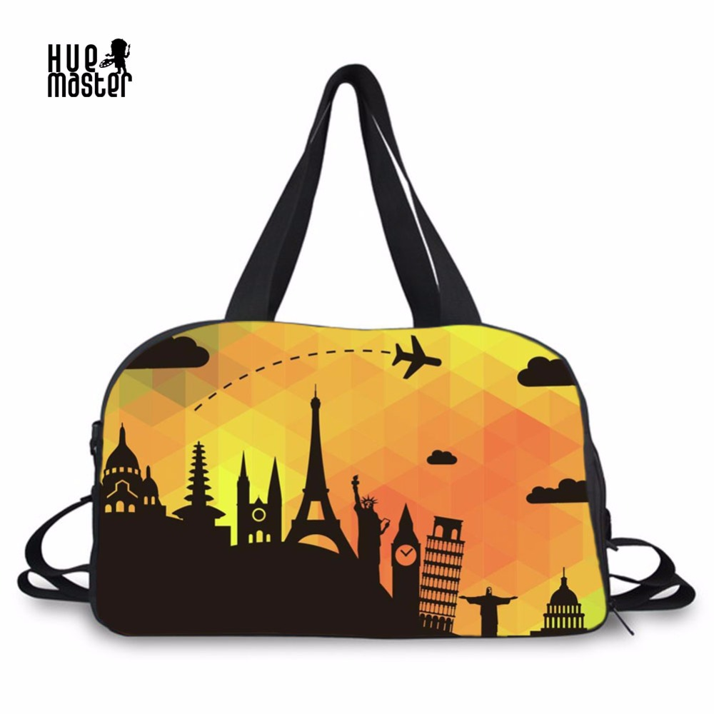 High Capacity Bolsa Viagem 3D Printing Men Women Duffle Bag Independent Shoe Pocket Travel Accessories Luggage Bags Mala Viagem