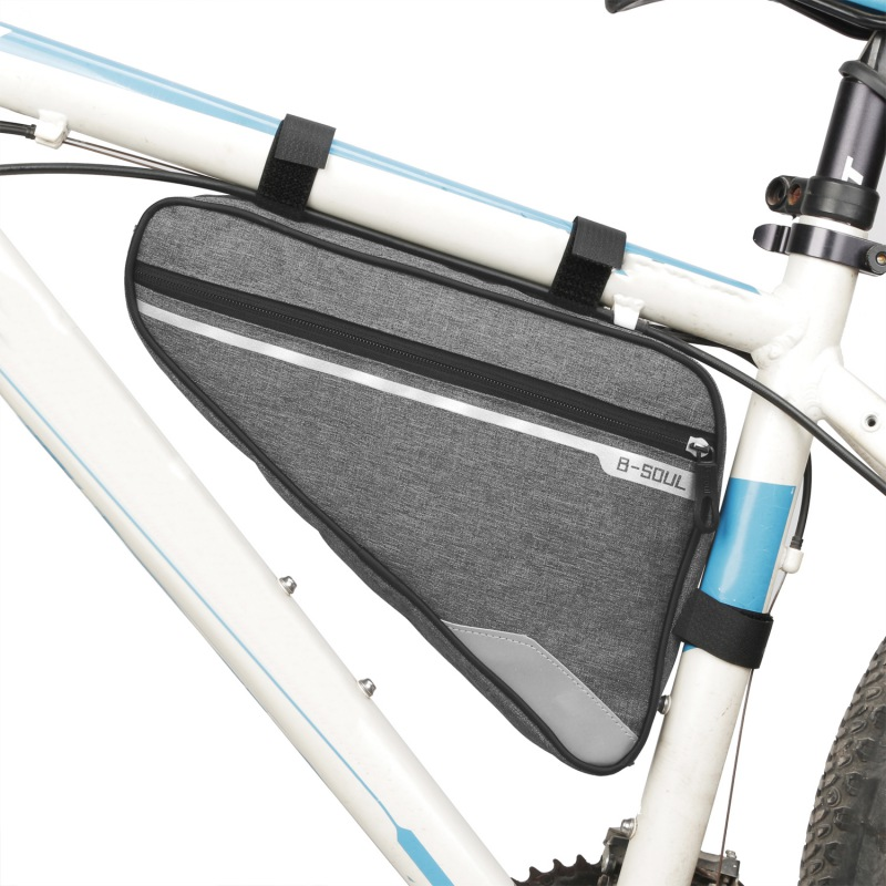 Bicycle Triangle Front Bag on Tube Frame Phone Waterproof Cycling Bags Pouch Frame Holder Bycicle Accessories