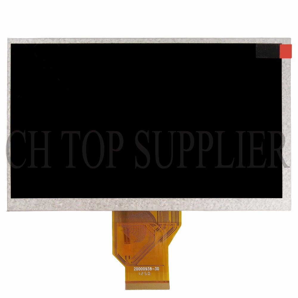 9 AT090TN10 20000938-00 LCD Screen panel Display for Tablet pc GPS MP4 MP5 free shipping original innolux 9 inch lcd screen of the original model at090tn10 20000938 30 20000938 00 3mm