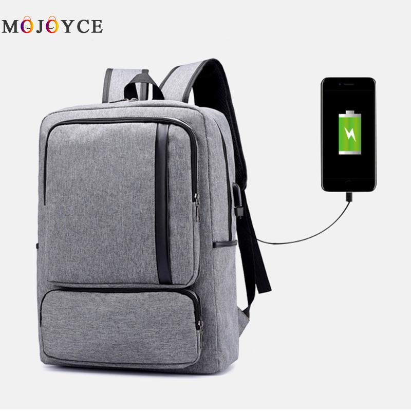 MOJOYCE Brand External USB Charge Backpack Male Mochila Escolar Laptop Backpack men women School Bags Backpack for teens