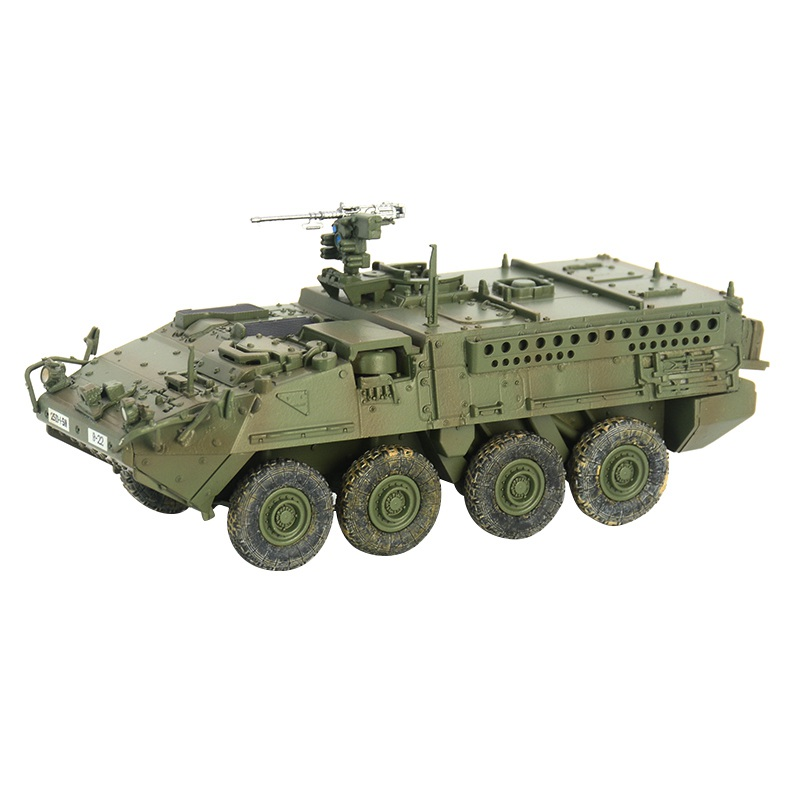 pre-built 1/72 scale M1126 Infantry Carrier Vehicle ICV Stryker hobby collectible finished plastic model