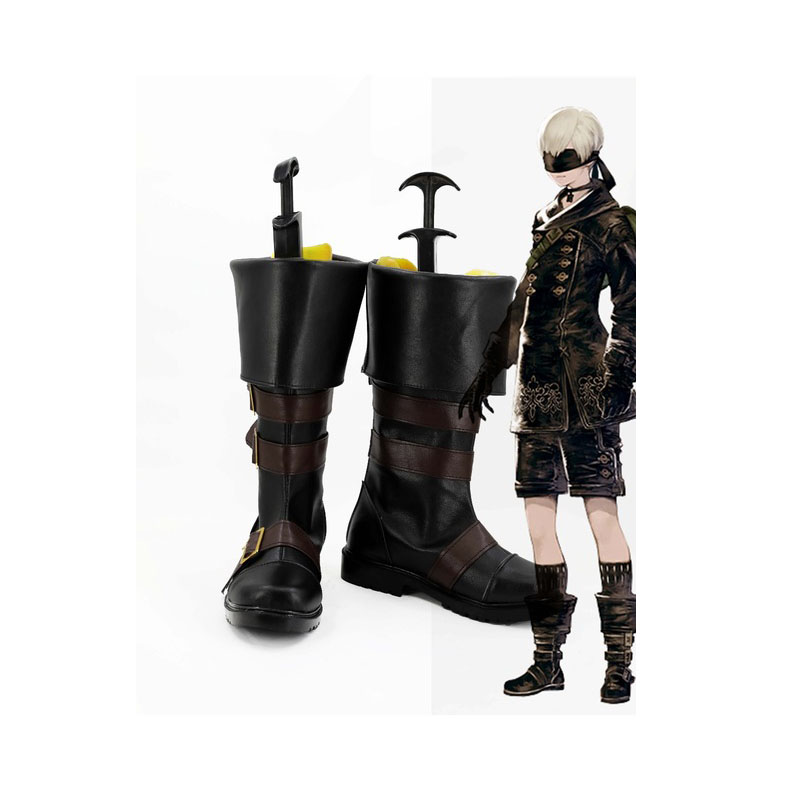 NieR Automata YoRHa No. 9 Type S 9S Cosplay Boots Shoes Male Female Professional Handmade Custom made European Size