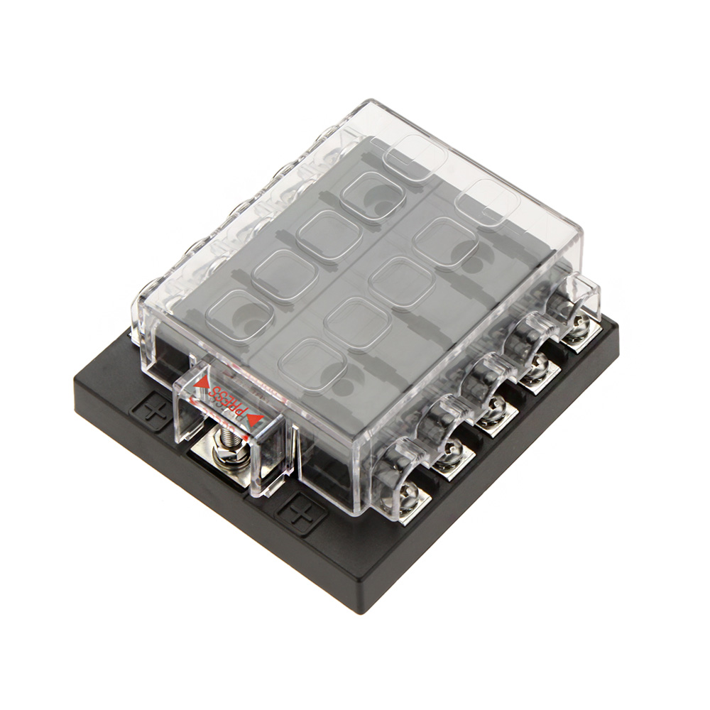 compare prices on mazda fuse box online shopping buy low price car style 10 way circuit 32v dc blade fuse box block holder for auto car boat