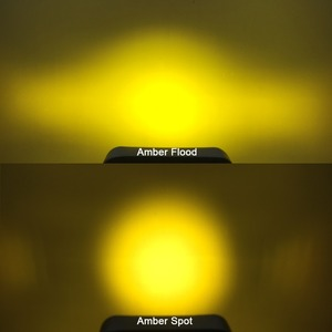 Image 5 - 5D レンズ 4.5 インチ正方形 led ワークドライビングライト用 12v 24 24v トラック 4 × 4 オフロード atv utv 4WD オフロードフォグランプ trailer ファーム車両