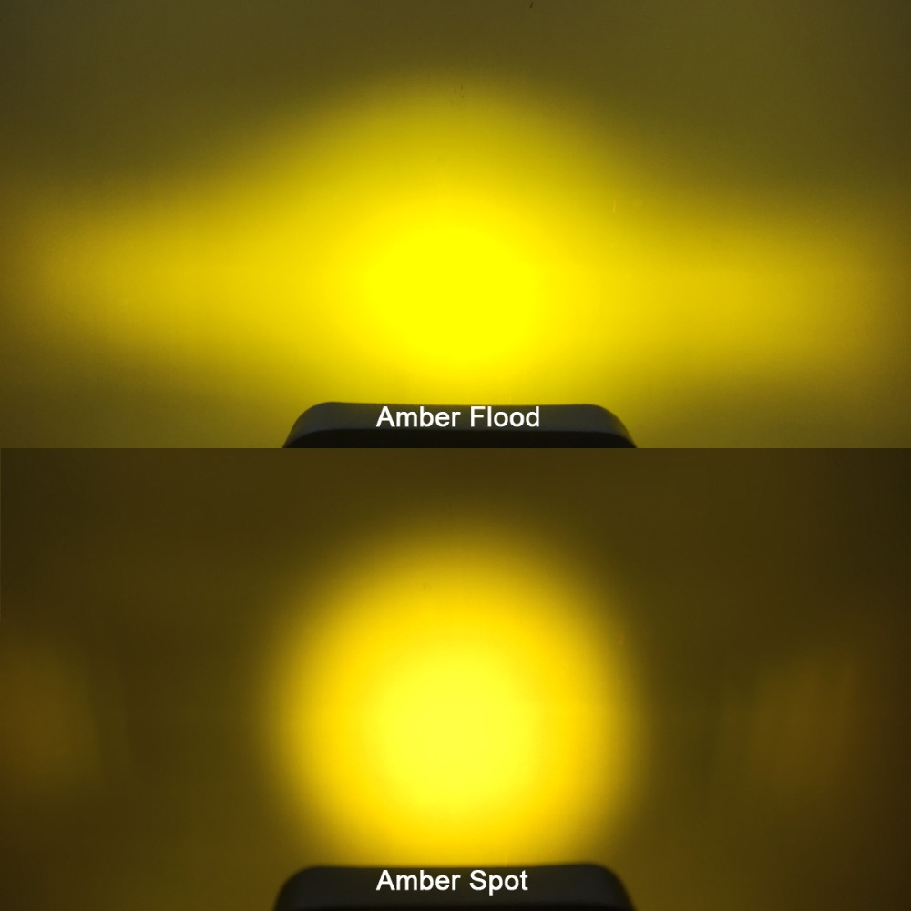 Image 5 - 5D Lens 4.5 Inch Square Led Work Driving Light For 12v 24v Trucks 4x4 off road ATV UTV 4WD Offroad Fog Lamp Trailer farm vehicle-in Light Bar/Work Light from Automobiles & Motorcycles