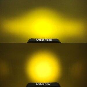 Image 5 - 5D Lens 4.5 Inch Square Led Work Driving Light For 12v 24v Trucks 4x4 off road ATV UTV 4WD Offroad Fog Lamp Trailer farm vehicle