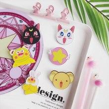 1 PCS Cartoon cute magic girl Icons Acrylic Badges for Backpack Clothes Plastic Badge Kawaii Pin brooch