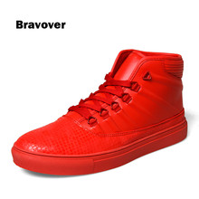 Spring Autumn Men's Casual Shoes Men Fashion Classic High Top Shoes Male Lace-Up Breathable High Quality men shoes
