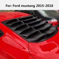 Автомобильные наклейки для Ford mustang 2015 2018 для модификации задних жалюзи за окном стекло лобовое стекло в окружении больших автомобильный сти