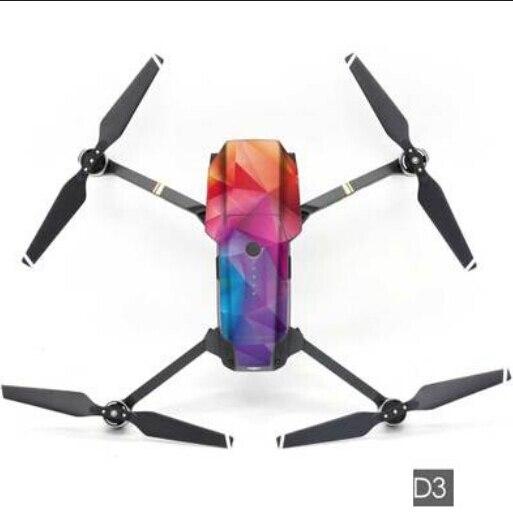 NEUE Wasserdichte Aufkleber Haut für DJI Mavic Pro Zubehör 3 Mt wasserdichte PVC Decals Drone RC Quadcopter Teile F19520
