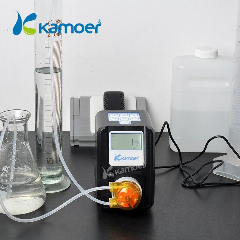 Kamoer F01A STP Amount Adjustable Peristaltic Pump (LCD, Amount Adjustable, High Precision, Small Peristaltic Pump, Liquid Pump)