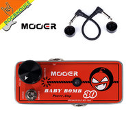 Mooer Preamp Guitar Effect Pedal Guitar Cabinet Driver Post Stage Tube Overdrive Digital 30 Watter Micro Power AMP Free Shipping