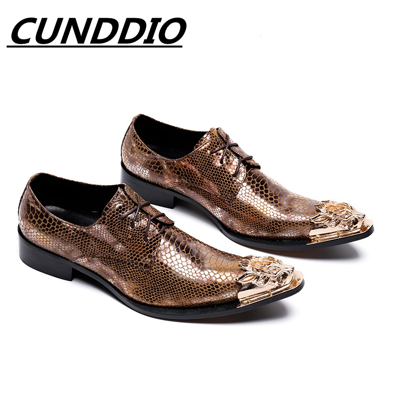 CUNDDIO steel-toed High heels pointed increased Men's shoes Genuine leather serpentine breathable Club hair stylist shoes 38-46 bashir khan sources of personal visions of educational leaders