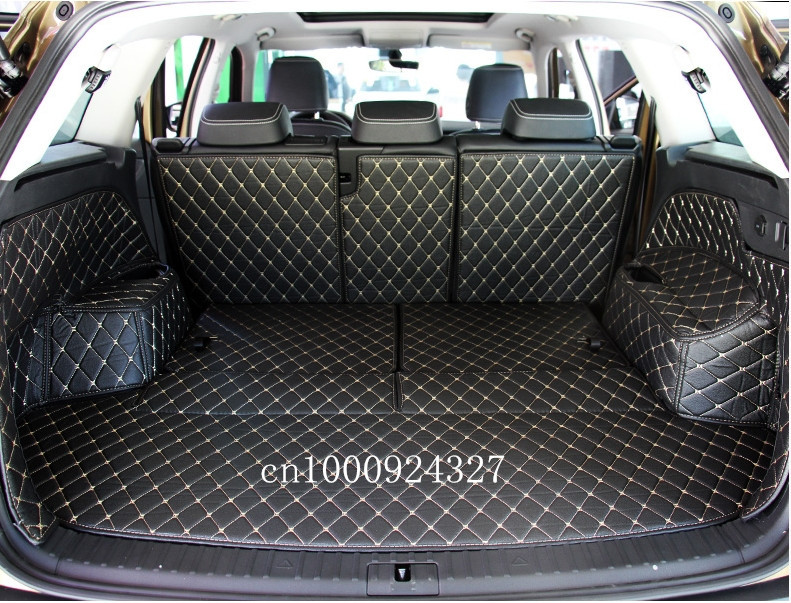 Good quality! Special trunk mats for Skoda KODIAQ 7 seats ...