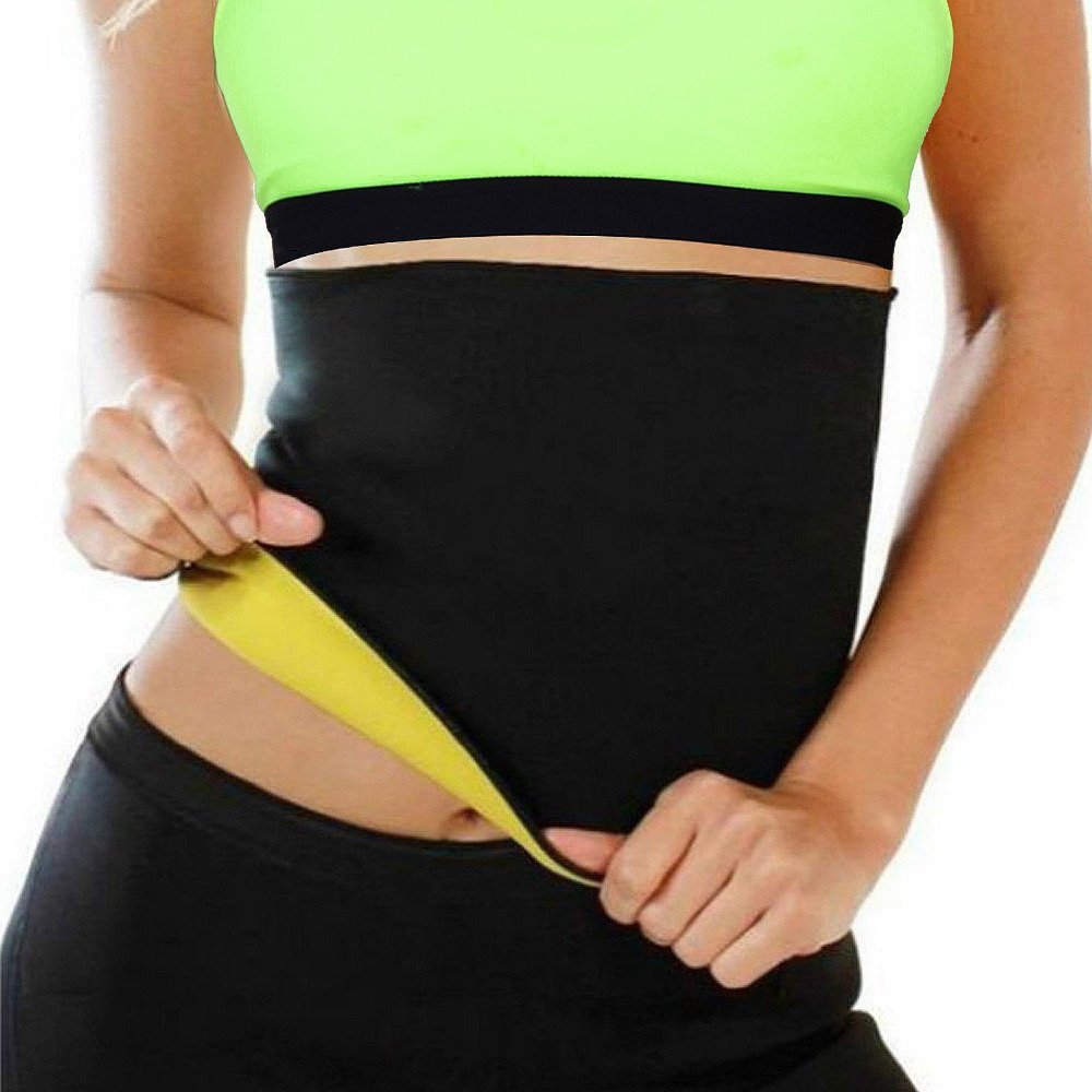 Hot Slimming Sauna Belt For Losing Weight-Sweat Band Body Shaper For Women Men