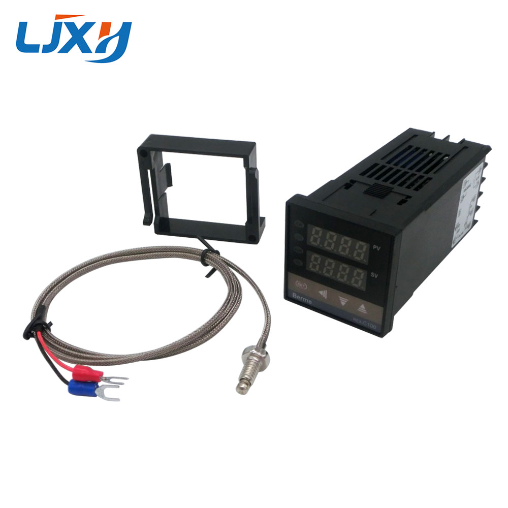 LJXH Heating Element Parts Type K thermcouple with REX-C100 Controller for Controller Heater Temperature LJXH Heating Element Parts Type K thermcouple with REX-C100 Controller for Controller Heater Temperature