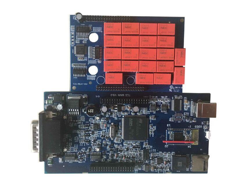 Супер Профессиональный VD TCS CDP OBD2 Диагностический Интерфейс с Best чип CDP Bluetooth 2014. r2/2015. r1 для автомобилей/грузовики DHL Бесплатная