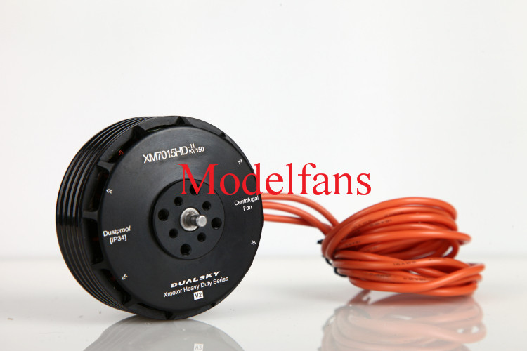 DualSky XM7015HD-11 150KV Heavy-duty Brushless Disc Motor V2.0 10-12S for FPV Multicopter UAV image