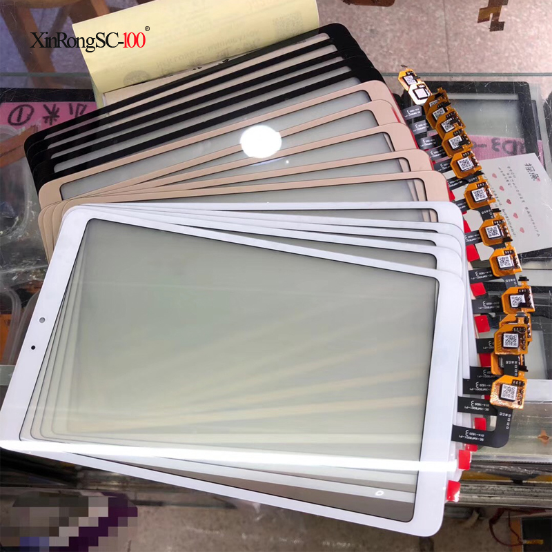 New 8 inch For Xiaomi Mi Pad 4 Mipad 4 MIUI Touch Screen panel Digitizer Glass Tablet PC Replacement new 9 6 inch mglctp 90894 2015 05 27 rx18 tx28 touch screen panel replacement 222 157 mm tablet pc touch pad digitizer