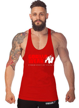 New cotton sleeveless shirt vest mens fitness jacket bodybuilding gym men