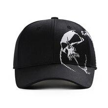 Skull Embroidered Baseball Cap