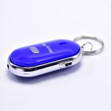 FGHGF, умный искатель, датчик ключей, брелок, звуковой светодиодный, со свистком, хлопает, искатель, поиск потерянных, искатель ключей, сигнализация для самозащиты