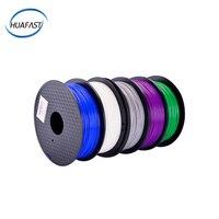 HUAFAST 3d filament pla 1.75 mm 1kg 3D Printing Material RepRap sublimation blanks 39 colors