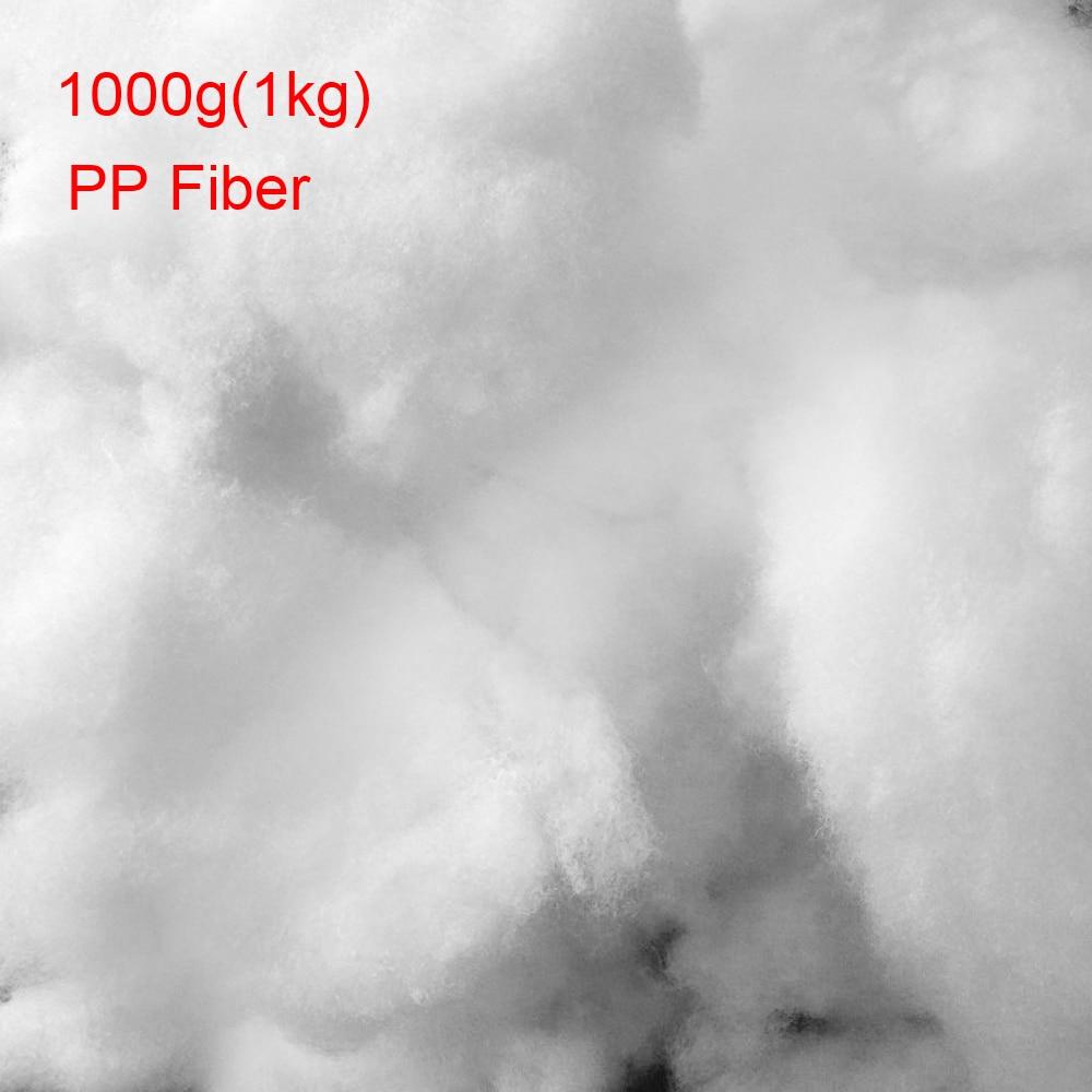 2018 nouveauté 1000g matériau de remplissage de coton écologique 100% Polyester Fiber PP coton rembourrage poupée bricolage coussin jouets remplissage
