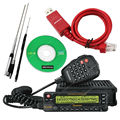 Nktech USB cabo de programação e Quad Band antena de carro WouXun KG-UV950P transceptor móvel de rádio em dois sentidos