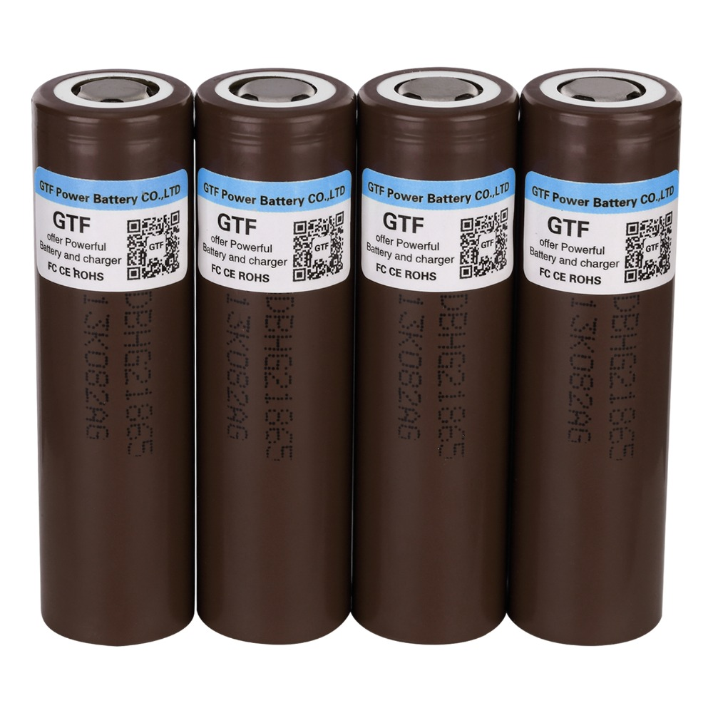 100% Original HG2 3.7V 18650 Battery 3000mah Rechargeable Battery For Electronic Cigarette 30A Discharge Current Drop Shipping