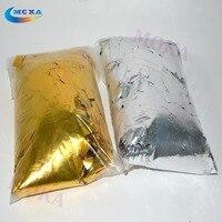 2KG Lot Gold And Silver Mylar Confetti Paper Metallic Confetti Paper For Confetti Cannon Machine