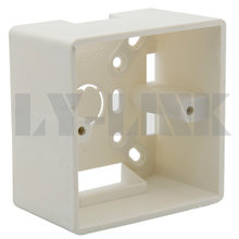 86 X 86mm Wall Plate Box back plate box outer side back box 5CM depth(China)