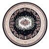 Round Shape Europe Style Flowers Carpet Area Rug For Bedroom Livingroom Carpet Baths Mat Door Mat