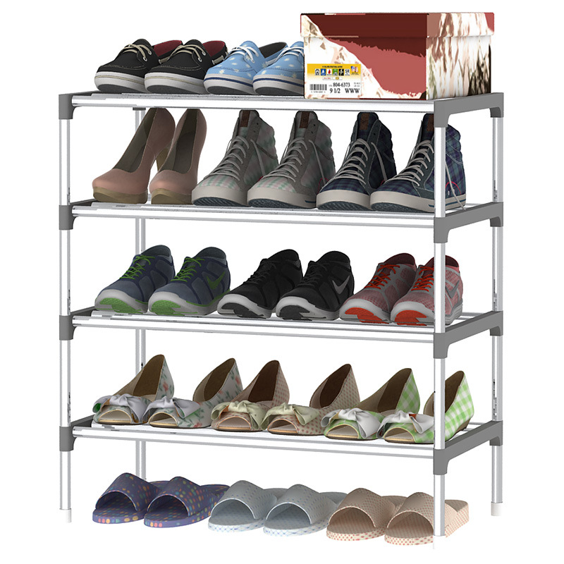 Attrayant Minimalist Fashion Ideas Sturdy Extraordinarily Organized Shoes Organizer  Modern Assembly Space Saving Shoes Closet Shoes Rack In Shoe Cabinets From  ...
