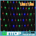 110V/220V 1.5M*1.5M 120pcs LED Net Light Led String Christmas Lights Garlands RGB/White/Blue/Warm White 8Modes for Holiday/Party