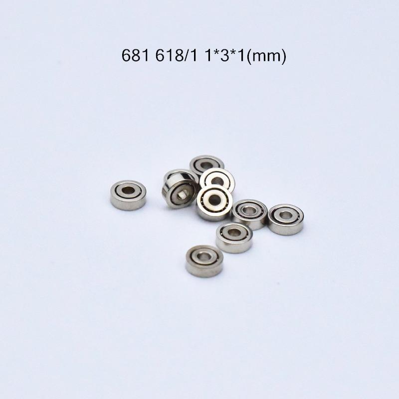 US Stock 10pcs 681 681ZZ Miniature Bearings Ball Mini Open Bearing 1 x 3 x 1mm