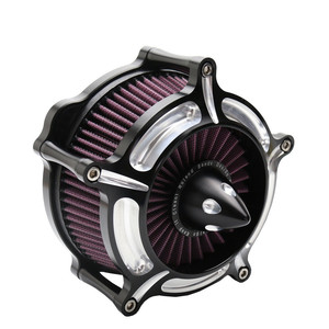 Image 2 - Motorcycle Air Filters Turbine Air Cleaner Intake Filter for Harley Sportster XL883 XL1200 1991 2011 2012 2013 2014 2015 2016