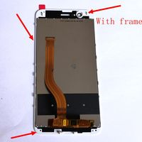 Highbirdfly For Huawei Honor 8 Pro / V9 DUK L09 DUK AL20 Lcd Screen Display+Touch Glass Digitizer Frame Assembly Repair Parts