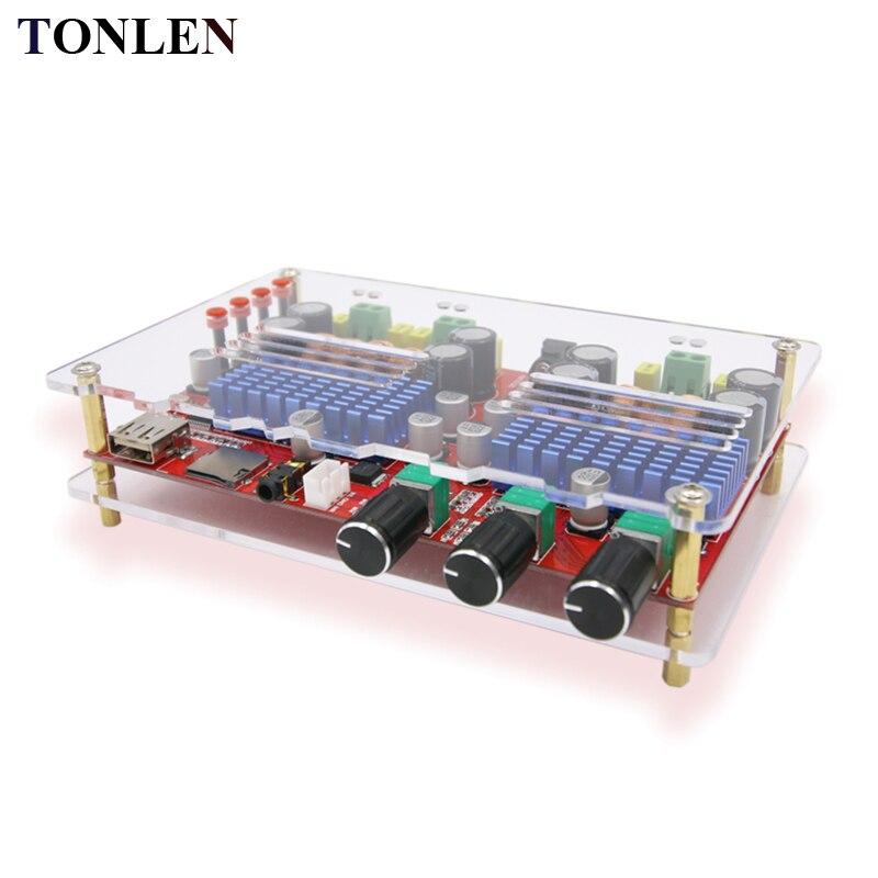 TONLEN TDA3116D2 carte amplificateur Audio numérique sans fil Bluetooth classe D 2.1 Module amplificateur HIFI 60 W * 2 + 100 W 24 V amplificateurs