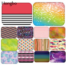 купить Hongbo 40*60cm Flower Pattern Anti-Slip Suede Carpet Door Mats Geometric Doormats Outdoor Kithchen Living room Floor Mat Rug по цене 212.98 рублей