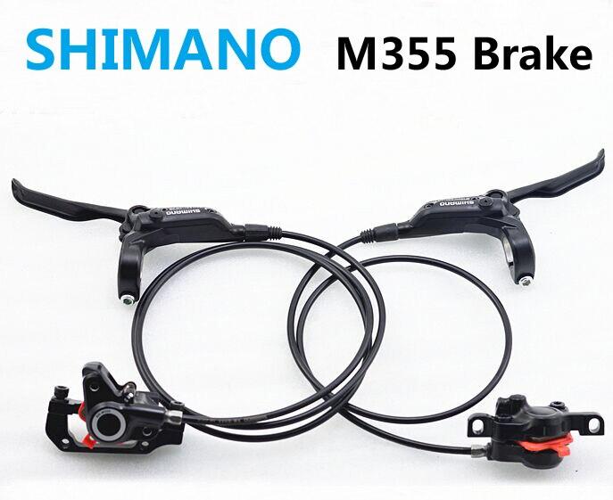 Shimano hydraulic brakes for Bikes BR-BL-M355 M355 Brake MTB Bicycle Disc brake clamp mountain Brake brake pads good to M315 shimano 2016 new br bl m315 hydraulic disc brake mtb mountain bike calipers left
